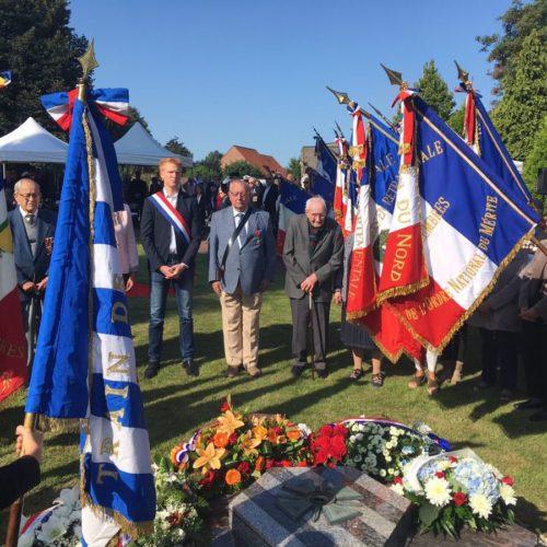 Cérémonie de commémoration des déportés du train de Loos