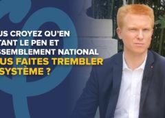 VIDÉO – Vous croyez qu'en votant Le Pen vous faites trembler le système ?