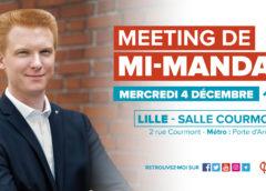 Meeting de mi-mandat – Adrien Quatennens, votre député