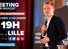 VIDÉO – Meeting d'Adrien Quatennens à Lille