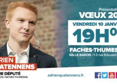 Voeux 2020 – Adrien Quatennens, votre député