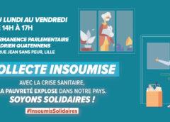 Participez aux collectes solidaires organisées par la France insoumise !